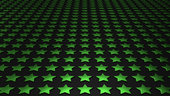 stars matrix background - green black 4