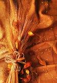 Grunge wheat background