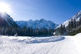Polish Tatras in winter scenery
