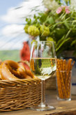 german riesling outdoors at public wine festival