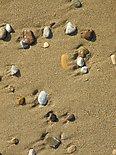 Pebbles on a beach