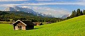 landscape near mittenwald