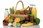 fruits,vegetables,fruits,food purchases in the basket