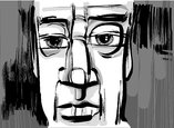 man face artistic drawing illustration