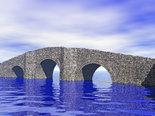 bridge in the water