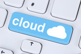Symbol Cloud Computing online on the Internet