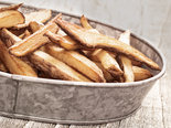 rustic natural cut french fries