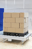 Boxes at pallet