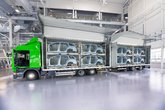 transportation of spare parts for car factory