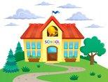 School building theme image 2