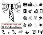 24 Communication Icons