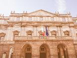 Retro looking Teatro alla Scala Milan
