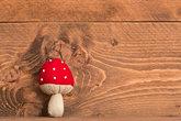 weihnachtlicher background with wood