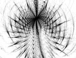 Abstract digitally generated image futuristic tunel