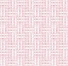 Abstract geometric seamless background. Regular stripes horizontal and vertical pink and white with diamond pattern light brown.