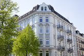 old building in hamburg,germany