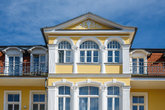 resort architecture in bansin in usedom