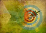 abstract target texture concept