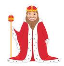 king - vector drawing