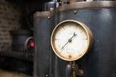 Industrial pressure gauge.