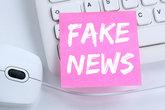 fake news news truth lie media internet desk office
