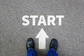 start start business concept start job career motivation