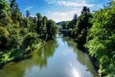 neckar river tübingen water nature