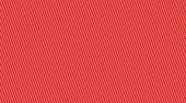 Diagonal white stripes on red background