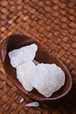rustic rock sugar food ingredient