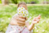 Child Nature Spring Happy
