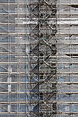 Scaffolding on a high rise building for renovations